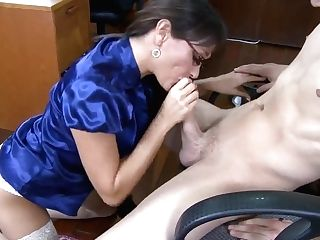 Matures Lecturer Michelle Lay Sucking And Fucking Xander Corvus