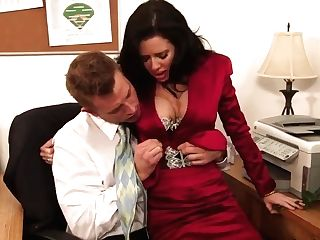 Insane Office With Bill Bailey And Veronica Avluv