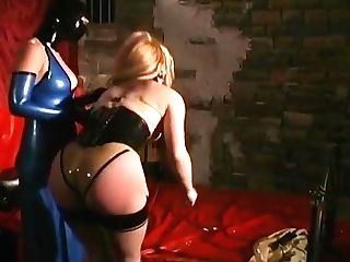 Super-cute Blonde Pleasured By Mistress Jean